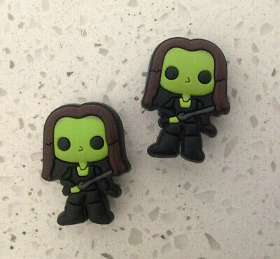 Guardians of Galaxy Gamora Jibbitz Crocs Shoe Bracelet Wristband Charm Set
