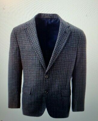 Allen Edmonds Freedom Checkered Blazer by Southwick 44R new with tags, MSRP $695