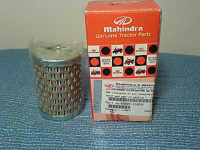 Mahindra Tractor  Power Steering Filter 000051460D01 New       E-1