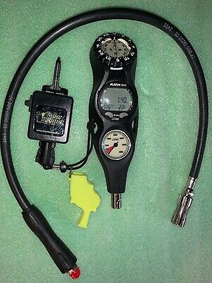 UWATEC Aladin Prime Air/Nitrox dive computer console with compass/excellent