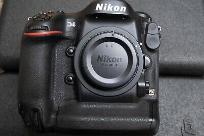 Nikon D D4 16.2MP Digital SLR Camera - Black (Body Only)