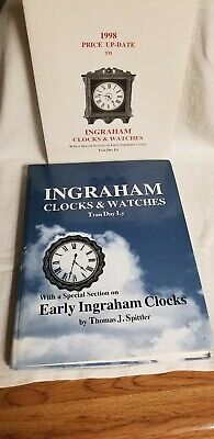 INGRAHAM CLOCKS & WATCHES by TRAN DUY LY, w/1998 $$ Guide & Special Early Clocks