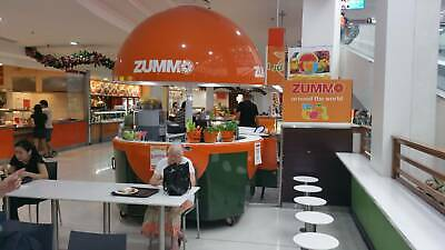 Mobile Juice Kiosk. Zummo made. Imported from Spain.