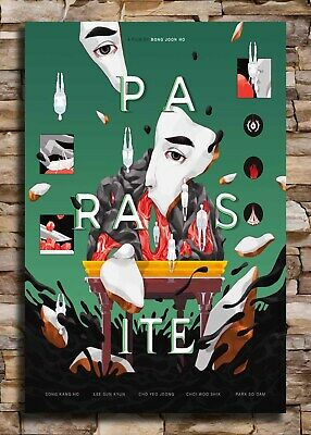 Parasite Movie Poster Silk 24x36 12x18 2019 Bong Joon Ho Y1099