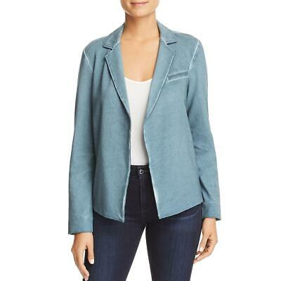 Nic Zoe Womens Asymmetric Zip Side Front Casual Blazer Jacket BHFO 3623