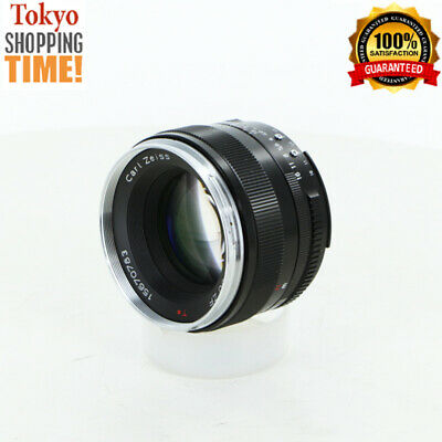 Cosina Carl Zeiss Planar T* 50mm F/1.4 ZF Lens from Japan