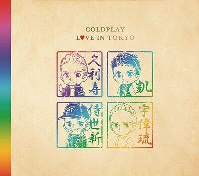 2642539 792731 Audio Cd Coldplay - Live In Tokyo 2017