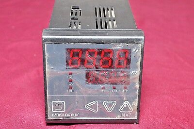 Hanyoung Nux DX3-PMWNR Digital Temperature Controller 96X48 Input Pt100  Relay