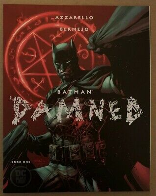 Batman Damned #1 First Print Uncensored Mint Never Read Lee Variant Cover B 🔥