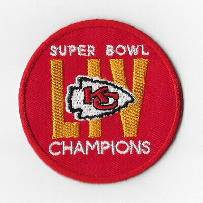 Super Bowl Champions 2020 LIV 54 Kansas City Chiefs Iron on Patches [6] Patch FN