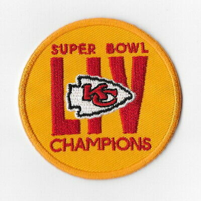 Super Bowl Champions 2020 LIV 54 Kansas City Chiefs Iron on Patches [7] Patch FN