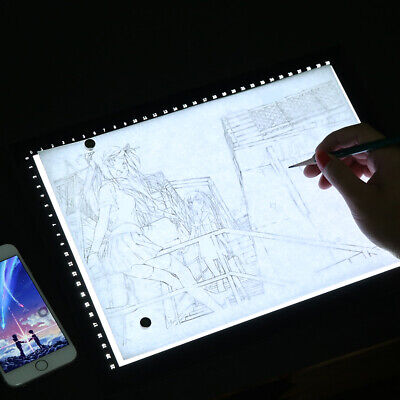 A3 LED Stencil Board Light Box Artist Art Tracing Drawing Copy Plate Table Gift