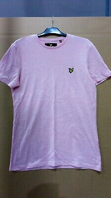 Pre Owned Mens/Boys Pink Lyle + Scott T Shirt Size Med.
