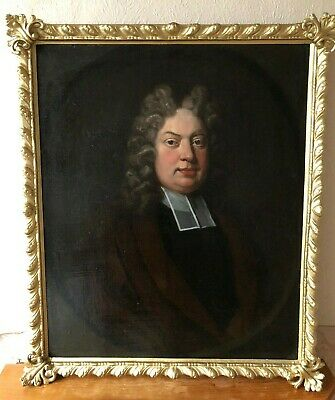 LARGE ANTIQUE OLD MASTER PORTRAIT PAINTING - 17th CENTURY - No Reserve