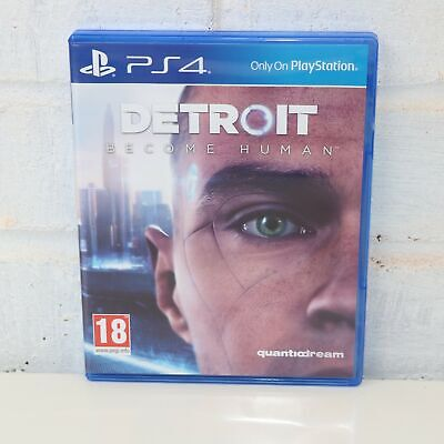 Detroit Become Human - Sony Playstation 4 Ps4 Game - Mint