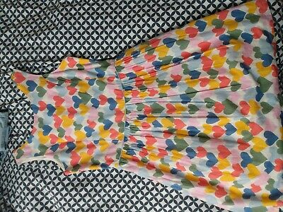 Marks And Spencer Heart Dress Age 11-12 Years