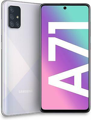 "Samsung Galaxy A71 ARGENTO SILVER Display 6.7"" Super AMOLED 6GB 128GB GRADO A-"