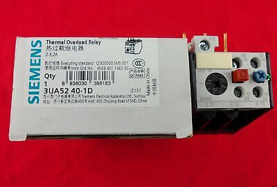 NEW 1PC Siemens Thermal Overload Relay 3UA5240-1D 2-3.2A