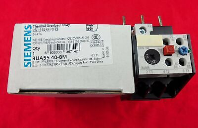 NEW 1PC SIEMENS Thermal Overload Relay 3UA5540-8M 36-45A