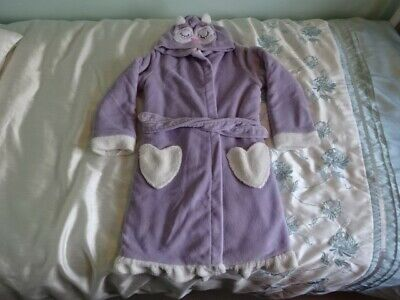 Gorgeous Girls TU Hooded Dressing Gown - Aged 9-10 Years