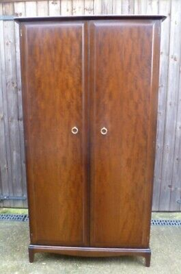 Very Clean STAG Minstrel Mahogany Wardrobe - delivery available