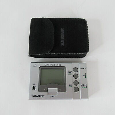 BOSS TU-80 DIGITAL TUNER /& METRONOME OR SABINE MT-9000 METRONOME