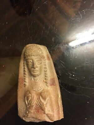 RARE PHOENICIAN FLAT BACKED TERRACOTTA PIECE CIRCA 6th Century b.c200
