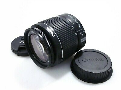 Canon EF-S 18-55mm f/3.5-5.6 IS II Zoom Lens with Caps