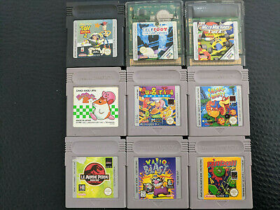 Jeux Nintendo Game Boy Lot