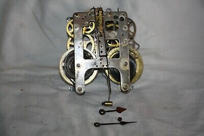 OLD AMERICAN ......CLOCK MOVEMENT .W. L GILBERT Co..SPARES OR REPAIR
