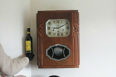 vintage  french-Wall Clock JURA..westminster chimes ...........  G.W.O