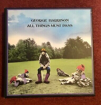 George Harrison - All Things Must Pass 2CD Box Set, Booklet *AS NEW* condition