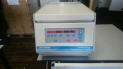 Beckman GS-15R Centrifuge With Rotor And Lid