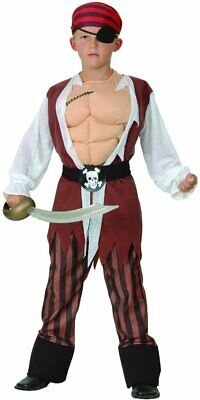 YOU LOOK UGLY TODAY Boy's Classic Pirate Costume, Large