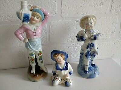 antique 19th century German figurines rare