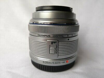 Olympus M.Zuiko Digital 14-42mm f/3.5-5.6 II R Lens for Four Thirds (Silver)
