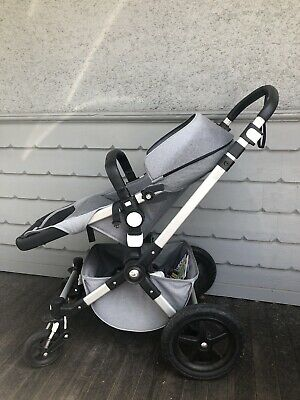Bugaboo cameleon 3 with Bassinet, Toddler Seat, Rain Cover And Sun Canopy
