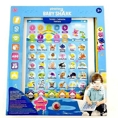 WowWee Pinkfong Baby Shark Tablet Educational Preschool Toyhit baby Kid Song
