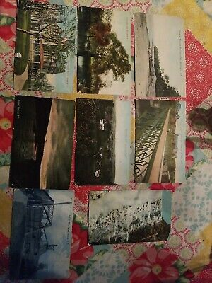 New York - Old post cards- 1909 - 1911 - 8 postcards