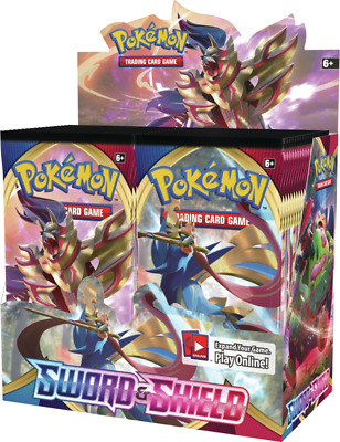 Pokémon TCG Sword & Shield Booster Box (Factory Sealed)