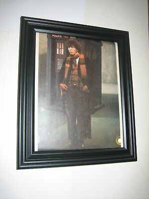 Doctor Who Pin-up FRAMED # 1 with TARDIS Tom Baker