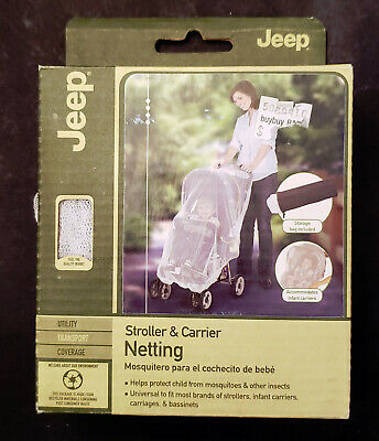 Jeep Mosquito Net for Strollers, Mosquito Net for Car Seat and Infant Carrier