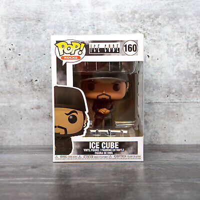 Funko Pop Rocks Ice Cube #160 w/ Protector | IN STOCK | FAST SHIPPING