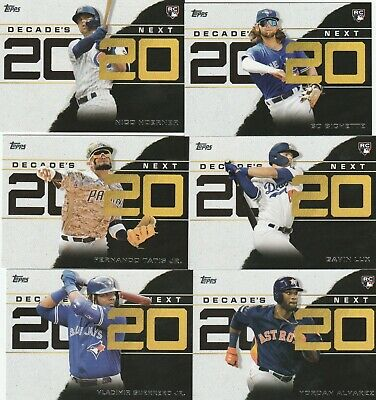 2020 TOPPS SERIES 1 BASEBALL Decade's Next 2020 U-PICK COMPLETE YOUR SET