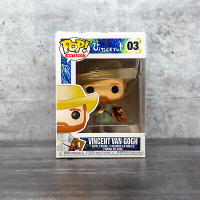 Funko Pop Artists Vincent van Gogh #03 w/ Protector | IN STOCK | FAST SHIPPING!
