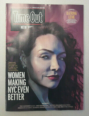(2) Time Out New York Magazine Katrina Lenk February/March 2020 Lot