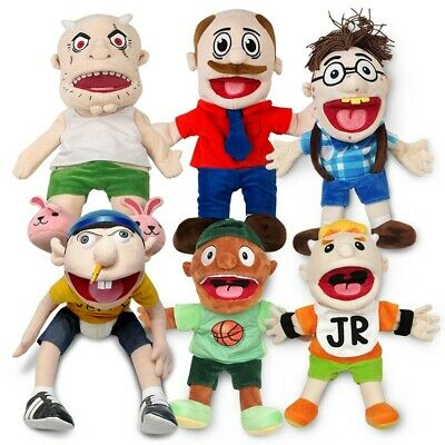 SML PUPPET COLLECTION Authentic Super Mario Logan Merch - In STOCK BRAND NEW