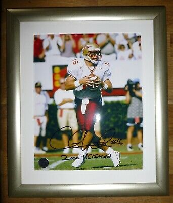 CHRIS WEINKE-A Superb Hand Signed Photo,Mounted & Matted-RARE With A COA Too
