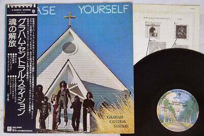 GRAHAM CENTRAL STATION RELEASE YOURSELF WARNER P-8506W Japan OBI VINYL LP