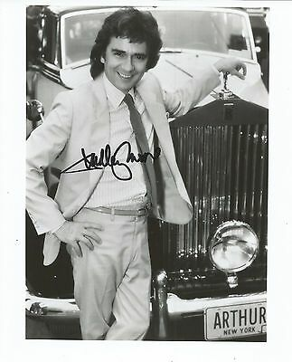 Hand Signed 8x10 photo DUDLEY MOORE as ARTHUR + RR Auction COA